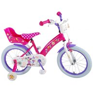 EandL Cycles - Bicicleta cu pedale , Minnie Mouse, 16