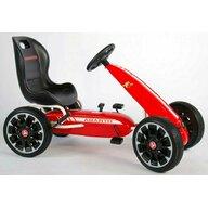 EandL Cycles - Kart cu pedale Go Kart Abarth, Rosu, Resigilat
