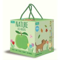 Sassi - Jucarie pentru sortat si stivuit Natura si numerele Eco-Blocks