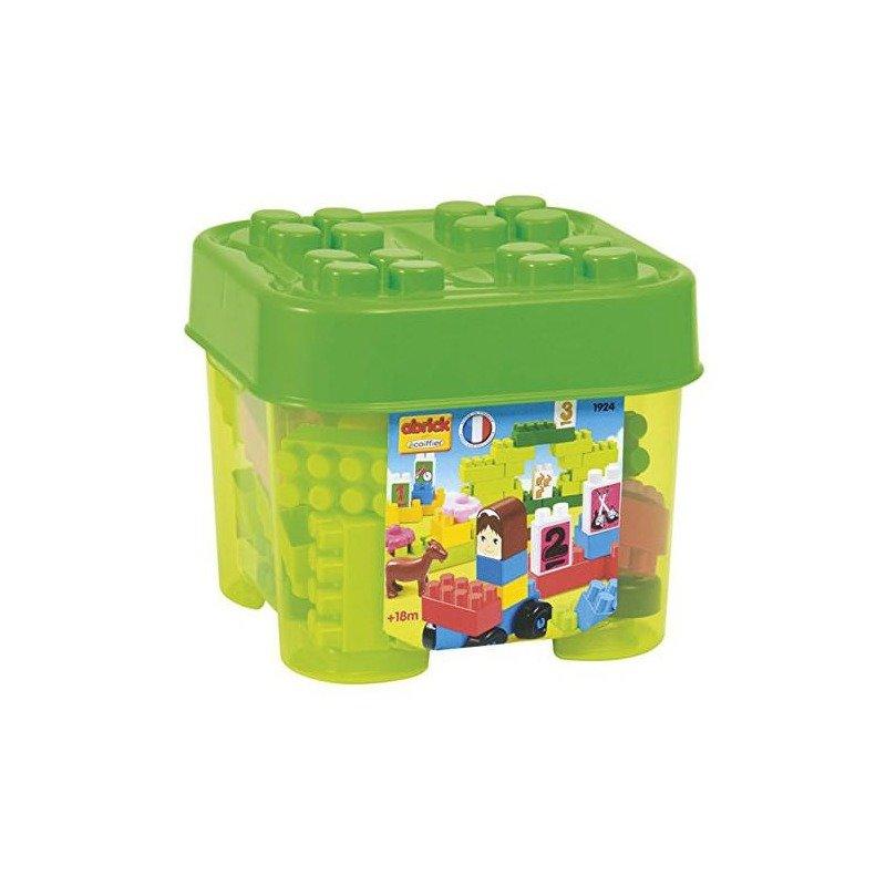 Ecoiffier Set cuburi de construit Abrick Verde din categoria Seturi constructii si cuburi de la Ecoiffier