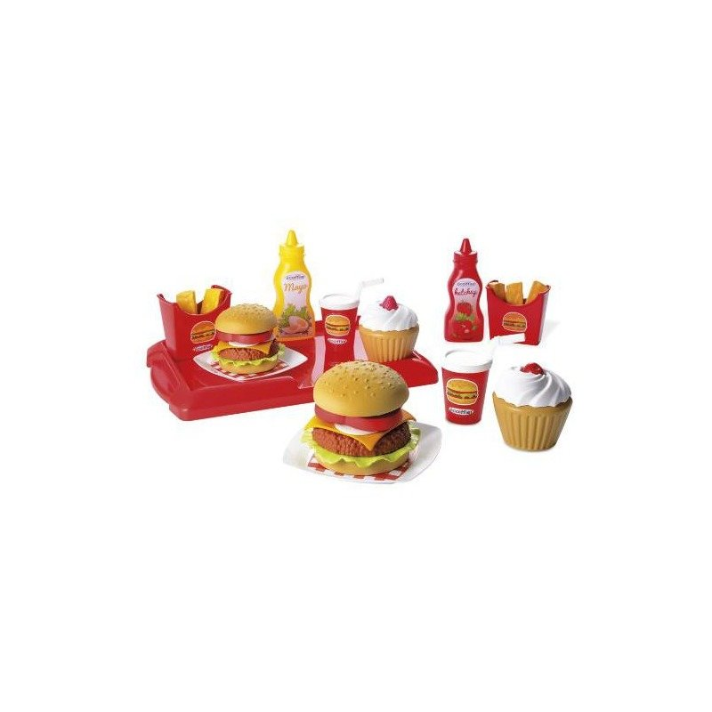 Ecoiffier Set hamburger
