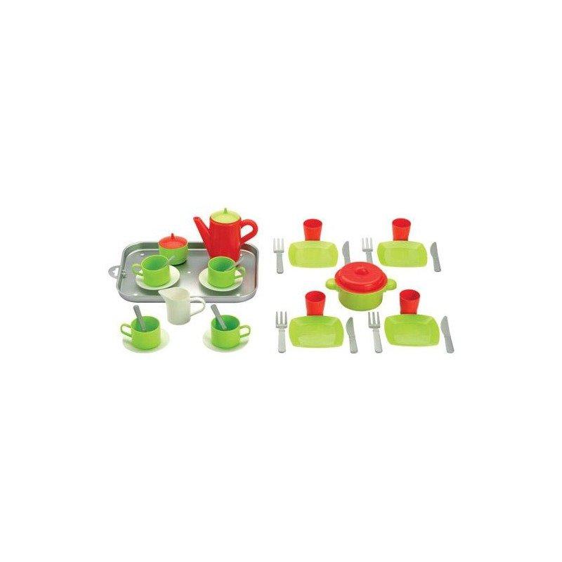 Ecoiffier Set mic dejun si set ceai din categoria Diverse jucarii de la Ecoiffier