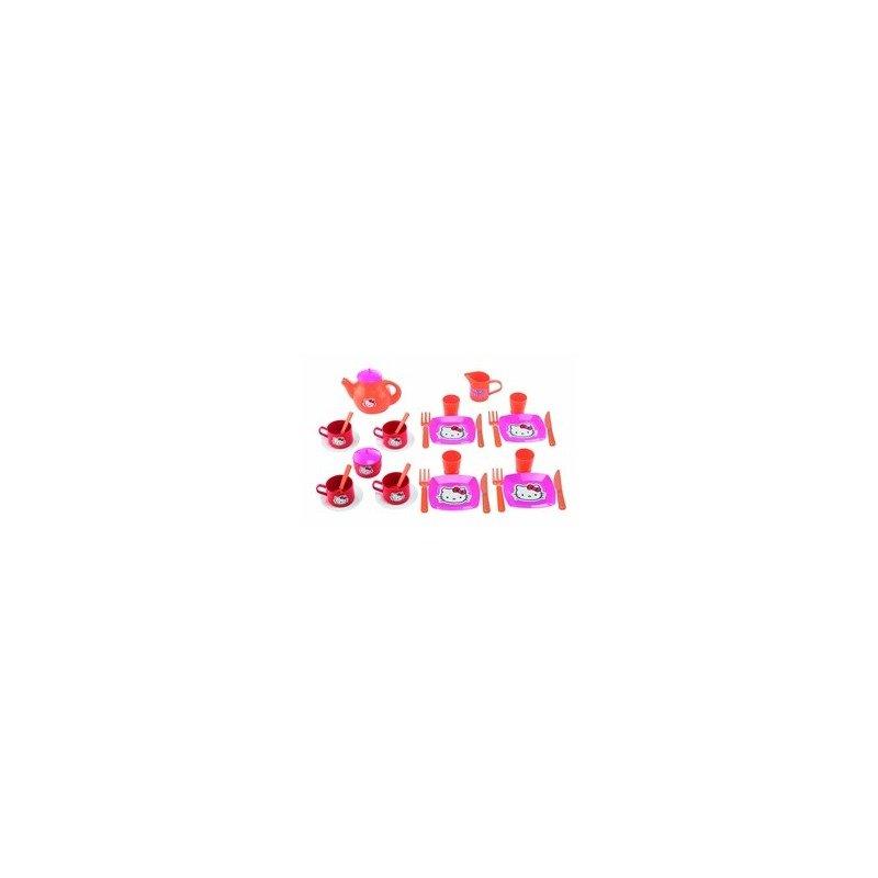 Ecoiffier Set mic dejun si set ceai Hello Kitty din categoria Diverse jucarii de la Ecoiffier