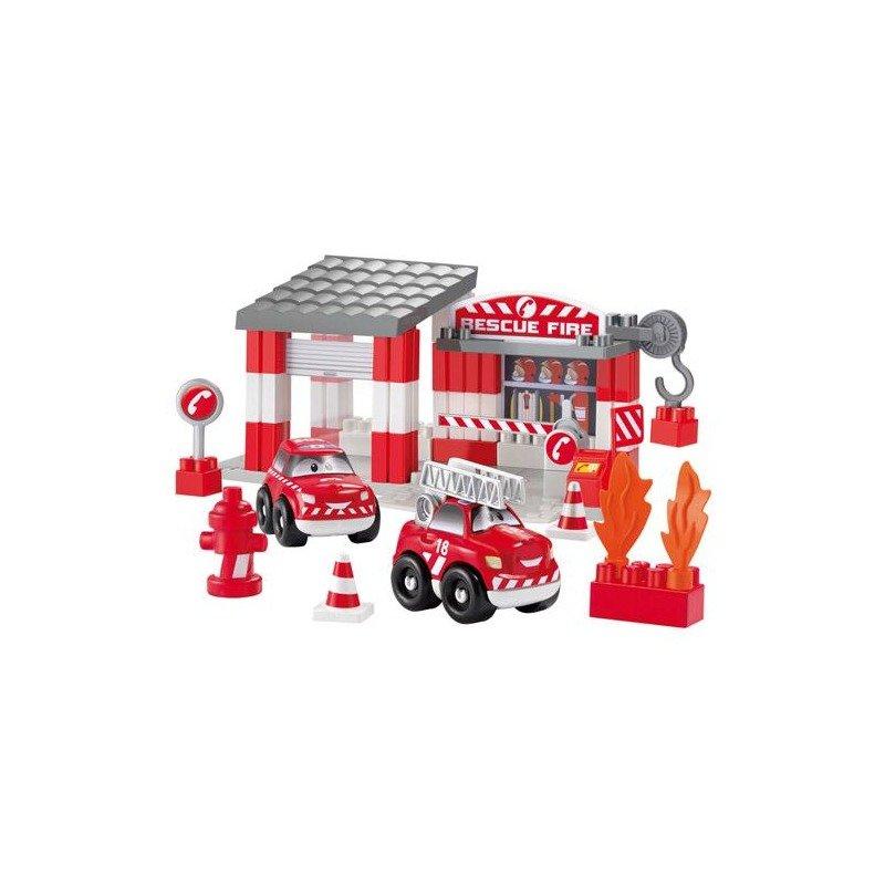 Ecoiffier Set Statie Pompieri