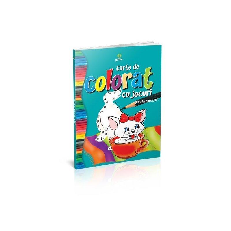 Editura Gama Carte de colorat cu jocuri