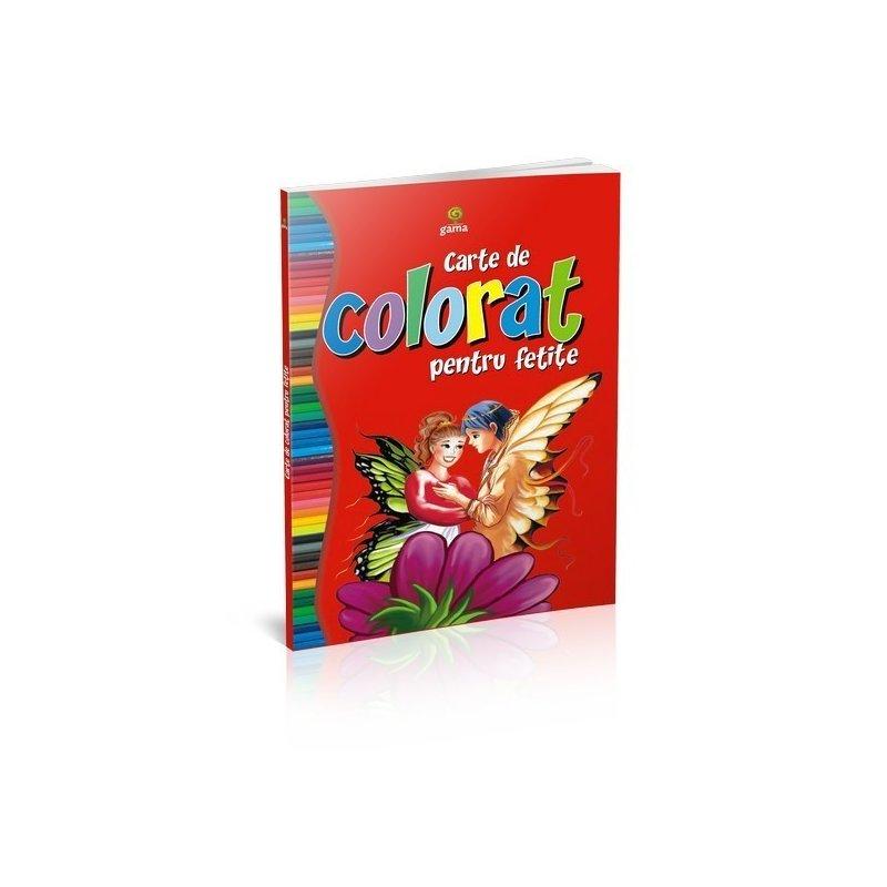 Editura Gama Carte de colorat pentru fetiţe