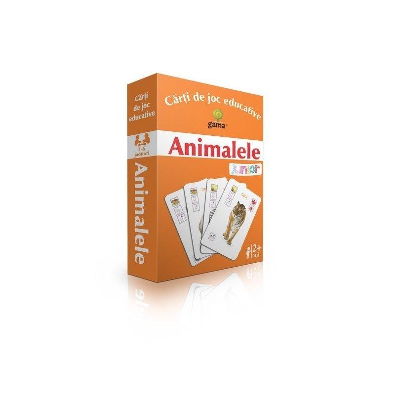 Editura Gama- Carti de joc educative Animalele