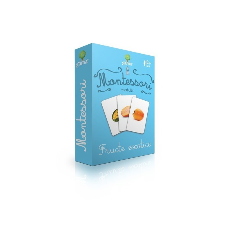 Editura Gama- Carti de joc educative Fructe exotice