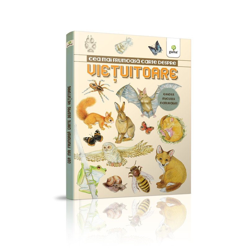 Editura Gama Cea mai frumoasă carte despre viețuitoare din categoria Carti educative de la Editura Gama