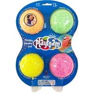 Educational Insights - Spuma de modelat Playfoam cu sclipici - set  4