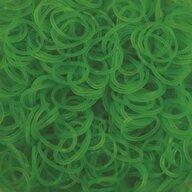Rainbow Loom - Elastice Neon 600 buc, Verde