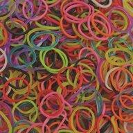 Rainbow Loom - Elastice Standard 600 buc, Mix