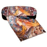 Fridolin - Etui cu textil si protectie ochelari, Art Nouveau
