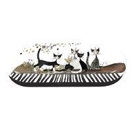 Fridolin - Etui ochelari metalic, Rosina Wachtmeister Cats Sepia