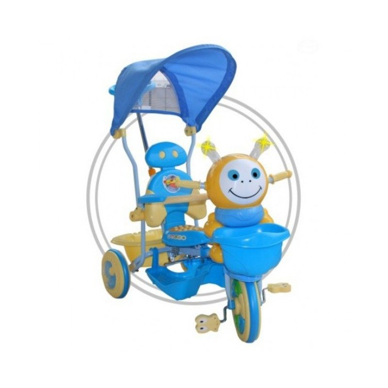 EURObaby Tricicleta EURObaby 2801AC 236AC - Albastru