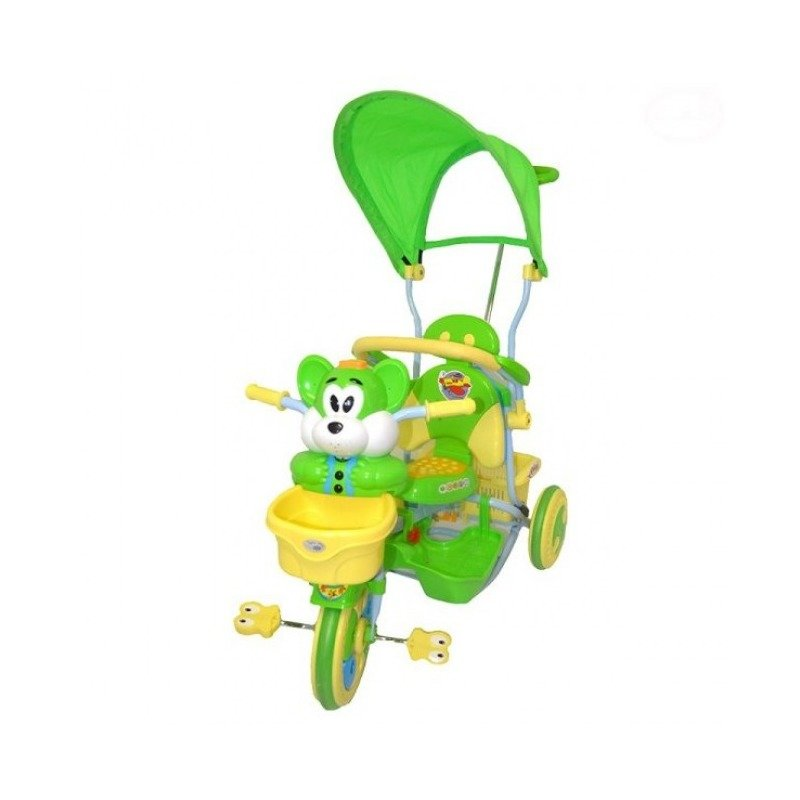 EURObaby Tricicleta EURObaby 2830AC – Verde din categoria Triciclete si Trotinete pentru copii de la EuroBaby