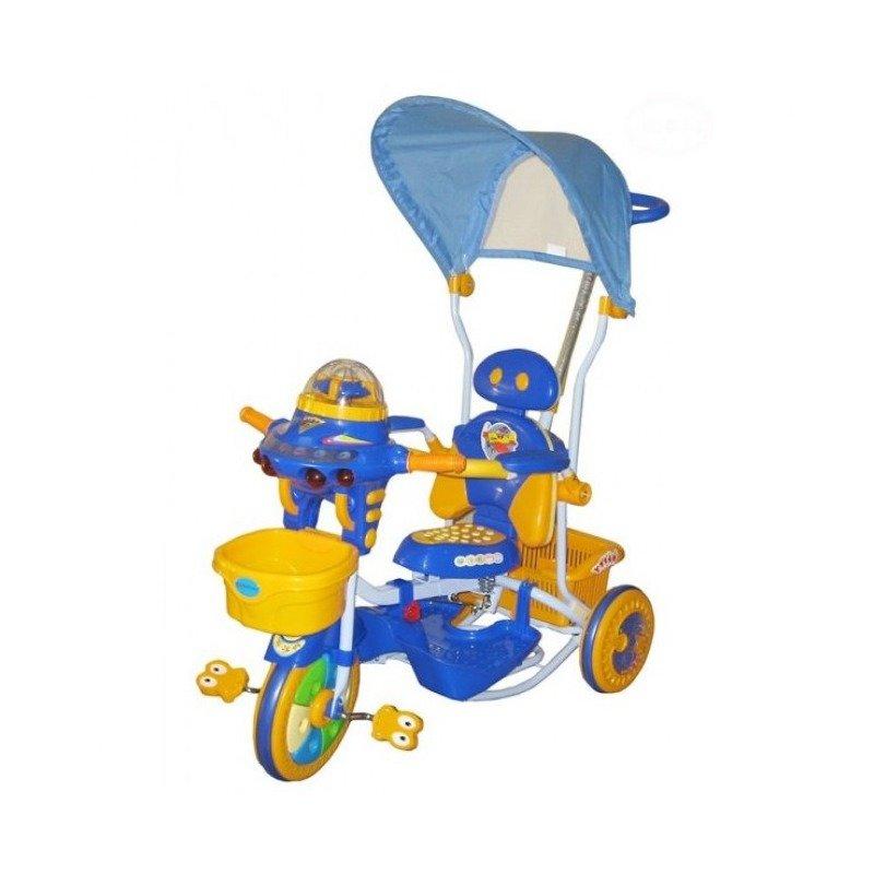 EURObaby Tricicleta EURObaby 2890AC – Albastru din categoria Triciclete si Trotinete pentru copii de la EuroBaby