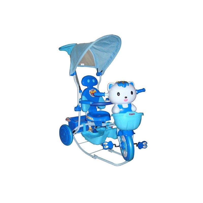 EURObaby Tricicleta EURObaby HQ2001 – Albastru din categoria Triciclete si Trotinete pentru copii de la EuroBaby