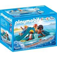 Playmobil - Familie cu hidrobicicleta