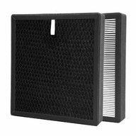 AIRBI - Accesoriu Filtru combinat Carbon activ/Hepa Pentru purificator Refresh BI3122