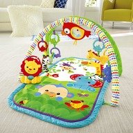 Fisher-Price - Centru activitati 3-in-1 Musical Activity Gym, Rainforest Friends