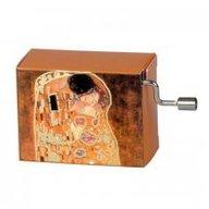 Fridolin - Flasneta Melodia Arabesque, pictura Gustav Klimt 'Sarutul'