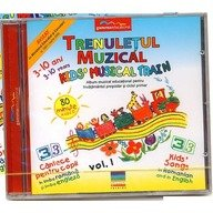 Gamma Educational Album muzical  Trenuletul Muzical - Kids Musical Train vol.1