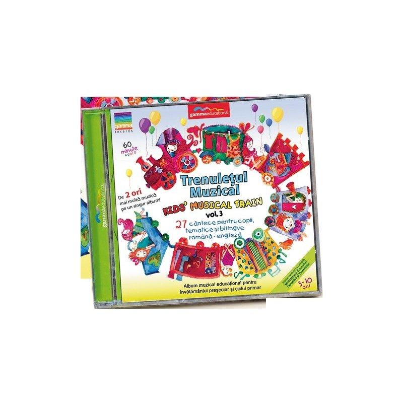 Gamma Educational Album muzical Trenuletul Muzical - Kids Musical Train vol.3