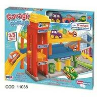RS Toys - Garaj Cu doua etaje si 3 vehicule incluse