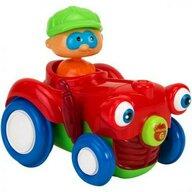Globo Jucarie bebelusi Vitamina G Tractor cu figurina Lumini si sunete