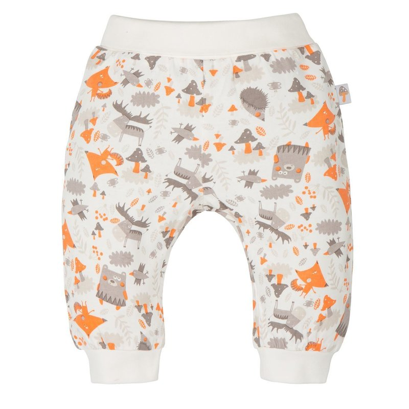 Gmini Pantalonasi pentru bebelusi Bears and Foxes