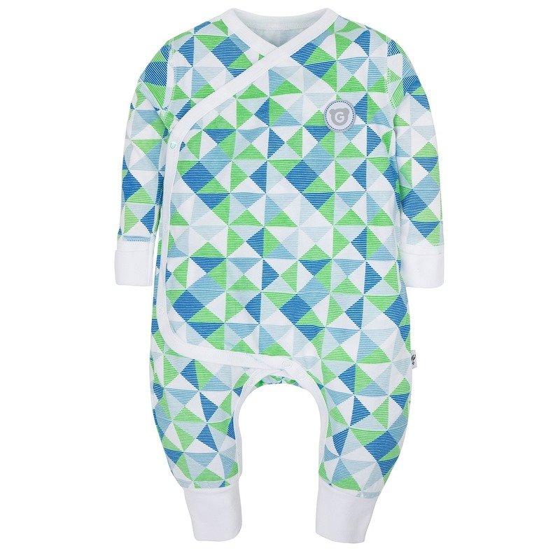 Gmini Salopeta pentru bebelusi Plus Mint- Figuri Geometrice din categoria Salopeta de la Gmini
