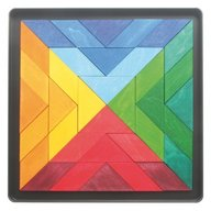 GRIMM'S Spiel und Holz Design - Puzzle magnetic Square Indian