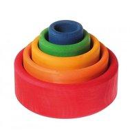 GRIMM'S Spiel und Holz Design - Set de boluri, Multicolor