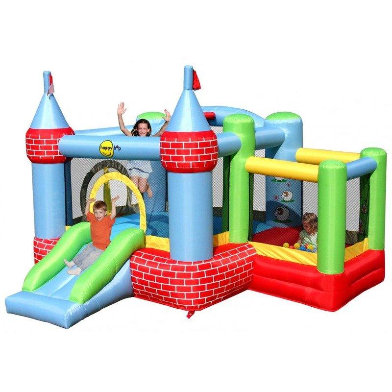 Happy Hop Saltea gonflabila Castel cu loc de joaca cu bile din categoria Centre de activitati de la Happy Hop