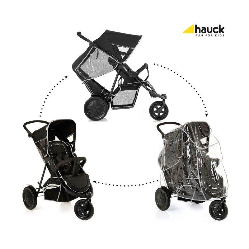Hauck Carucior Dublu Freerider SH12 Black din categoria Carucioare copii de la Hauck