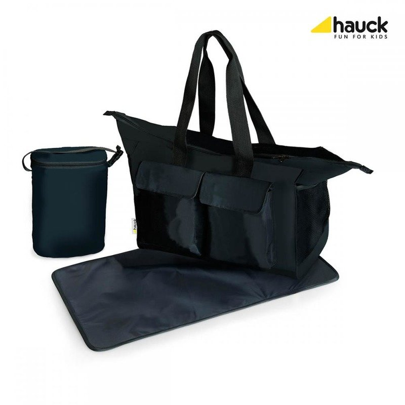 Hauck Geanta Bebe- Care Me Charcoal din categoria Genti plimbare de la Hauck