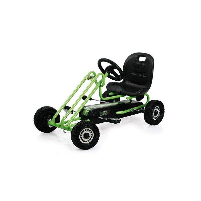 Hauck Go Kart Lightning Race Green din categoria Karturi cu pedale de la Hauck Toys