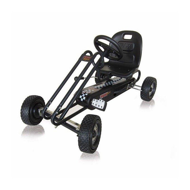 Hauck Go Kart Lightning - Titan Black din categoria Karturi cu pedale de la Hauck
