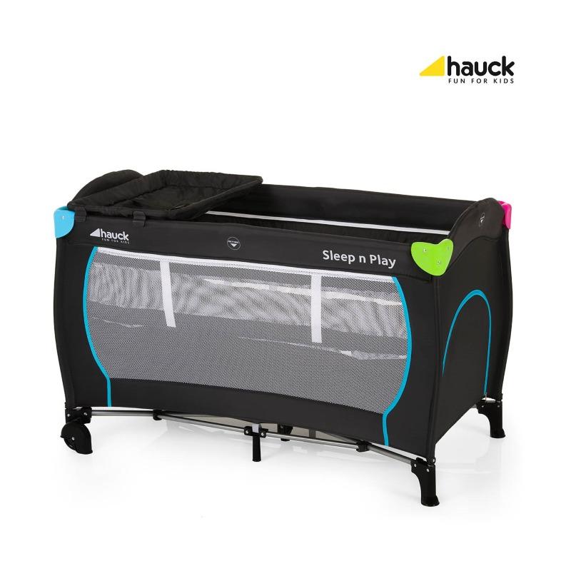 Hauck Pat Voiaj Sleepand Play Center – Multicolor Black din categoria Patuturi pliante de la Hauck