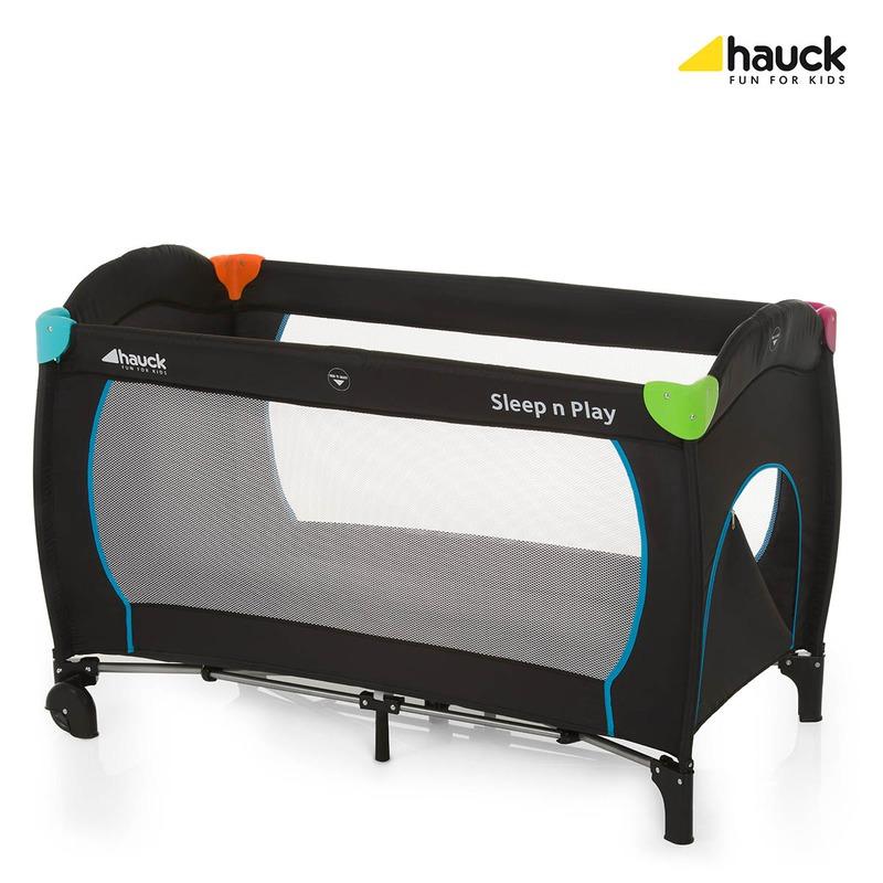 Hauck Pat Voiaj Sleepand Play Go Plus Multicolor Black din categoria Patuturi pliante de la Hauck