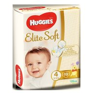 Huggies - Elite Soft (nr 4) Convi 19 buc, 8-14 kg