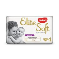 Huggies - Elite Soft Pants Platinum (4) Mega 36 buc, 9-14 kg