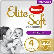 Huggies - Elite Soft Pants Platinum (4) Mega 44 buc, 9-14 kg