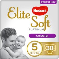 Huggies - Elite Soft Pants Platinum (5) Mega 38 buc, 12-17 kg