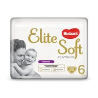 Huggies - Elite Soft Pants Platinum (6) Mega 26buc, 15+ kg