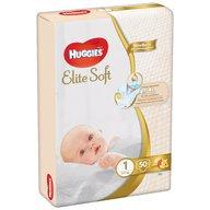 Huggies - Elite Soft (nr 1) Jumbo 50 buc, 3-5 kg