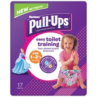 Huggies - Pull-Ups Conv Tric 1-2.5Yrs Girl 17 buc, 8-17 kg