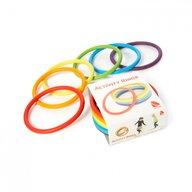 Gonge - Jucarie de echilibru Inele de activitati 6 buc, Multicolor