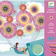 Djeco - Joc creativ de facut spirale, Marguerite